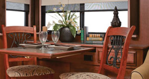 2012 Fleetwood Southwind Dining Room