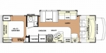 2010 Forest River Forester 3101SS Floorplan