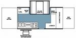 2008 Forest River Rockwood High Wall Series HW258 Floorplan