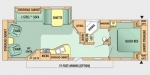 2009 Jayco Jay Flight G2 32 RLS Floorplan