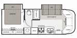 2010 Four Winds Siesta 26BE Floorplan