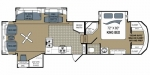 2012 Dutchmen Grand Junction 300RL Floorplan