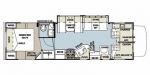2013 Forest River Sunseeker 3100SS Floorplan