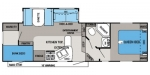 2014 Jayco Eagle HT 27.5BHS Floorplan