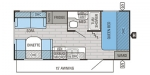 2016 Jayco Jay Flight 19RD Floorplan
