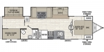 2018 Coachmen Freedom Express Liberty Edition 310BHDSLE Floorplan