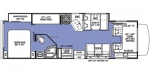 2017 Forest River Sunseeker 3270S Floorplan