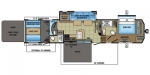 2017 Jayco Seismic 4212 Floorplan