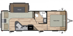 2020 Keystone Springdale (West) 258RLWE Floorplan