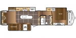 2018 Prime Time Manufacturing Sanibel 3651 Floorplan