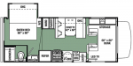 2019 Forest River Forester 2251S LE Floorplan