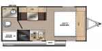 2020 Coachmen Catalina Summit Series 7 172FQ Floorplan