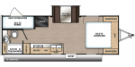 2020 Coachmen Catalina Summit Series 7 212BHS Floorplan