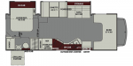 2019 Coachmen Leprechaun 280BH Floorplan