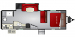 2020 Cruiser RV Embrace Ultra-Lite EL260 Floorplan