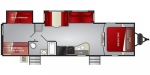 2020 Cruiser RV Embrace Ultra-Lite EL310 Floorplan