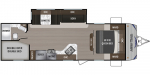 2020 Dutchmen Aspen Trail LE 26BH Floorplan