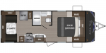 2020 Dutchmen Aspen Trail 2050QBWE Floorplan