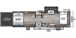 2020 Forest River Ozark 2700TH Floorplan