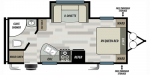 2019 Forest River Salem Cruise Lite West 212RBXL Floorplan
