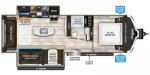 2020 Grand Design Imagine 2970RL Floorplan
