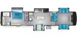 2021 Heartland Big Country BC 3902 FL Floorplan