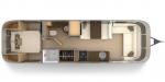 2020 Airstream Flying Cloud 30RB Floorplan