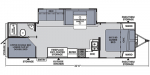 2020 Coachmen Apex Ultra Lite 284BHSS Floorplan