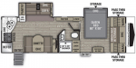 2020 Coachmen Freedom Express Ultra-Lite 276RKDS Floorplan