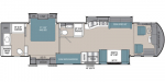 2020 Coachmen Sportscoach RD 402TS Floorplan