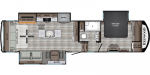 2021 CrossRoads Redwood RW3401RL Floorplan