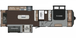2020 Dutchmen Atlas 3172RLKB Floorplan