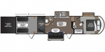 2021 Dutchmen Endurance 3586 Floorplan