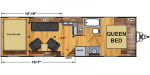 2020 Eclipse Iconic Pro Lite 2515AK Floorplan