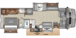 2020 Entegra Coach Accolade 37TS Floorplan