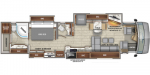 2020 Entegra Coach Anthem 44B Floorplan