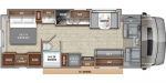 2020 Entegra Coach Esteem 30X Floorplan