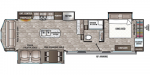 2020 Forest River Cedar Creek Cottage 40CRS Floorplan