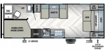 2020 Forest River EVO Northwest Lite 2260BH Floorplan