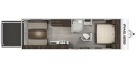 2020 Forest River Cherokee Grey Wolf 22RR Floorplan