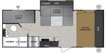 2020 Forest River No Boundaries NB19.8 Floorplan