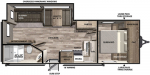 2020 Forest River Vibe 24X Floorplan