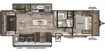 2020 Forest River Vibe 28RL Floorplan