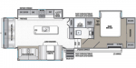 2020 Forest River Wildcat Maxx 333MKX Floorplan