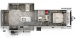 2020 Forest River Wildwood Heritage Glen 273RL Floorplan