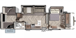 2020 Forest River Salem 33TS Floorplan