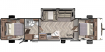 2020 Forest River Wildwood 37BHSS2Q Floorplan