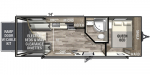 2020 Forest River XLR Hyper Lite 2414 Floorplan