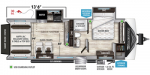 2020 Grand Design Momentum G-Class (Travel Trailer) 25G Floorplan