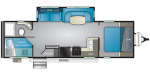2020 Heartland Wilderness WD 2725 BH Floorplan